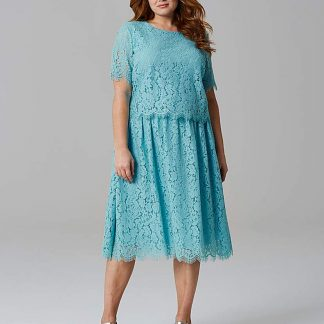 Lace Layer Prom Dress