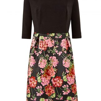 Lovedrobe Jacquard Skirt Bardot Dress