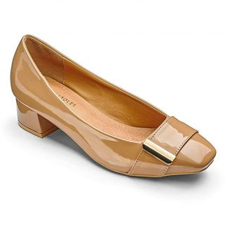 Heavenly Soles Patent Shoes EEE Fit