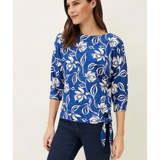 Phase Eight Cassidy Floral Tie Top