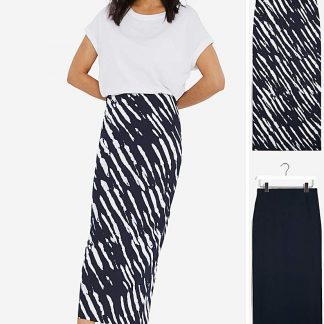 2 Pack Jersey Midaxi Tube Skirts